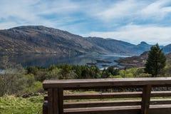Adembenemend landelijk berglandschap Schotland royalty-vrije stock fotografie