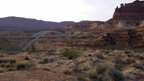 Adembenemend landschap bij het Nationale Park van Canyonlands stock footage