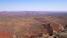 Adembenemend landschap bij het Nationale Park van Canyonlands stock video