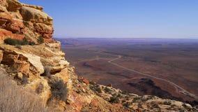Adembenemend landschap bij het Nationale Park van Canyonlands stock videobeelden
