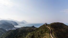 Adembenemend landschap van wandelingsgang van Taiwan royalty-vrije stock foto