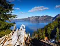 Adembenemend Vulkanisch Meer, Oregon, U S stock foto's