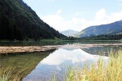 Adembenemende mening van de Alpen in Frankrijk Royalty-vrije Stock Afbeeldingen