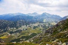 Adembenemende Retezat-bergen in de Karpaten Stock Afbeeldingen