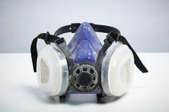 Ademhalingsapparaat op witte achtergrond stock afbeelding