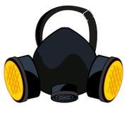 Ademhalingsapparaat voor bescherming vector illustratie