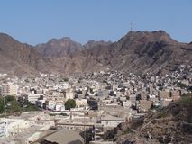 Aden - South Yemen Royalty Free Stock Photo
