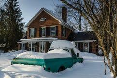 Adentro nevado - Grafton, Vermont Fotos de archivo libres de regalías