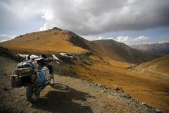 Adenture Motorradfahren Stockfotos