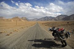 Adenture Motorradfahren Lizenzfreies Stockfoto