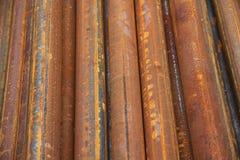 Aderência das tubulações de aço Imagens de Stock