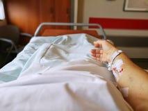 Aderlijke Catheter royalty-vrije stock afbeelding
