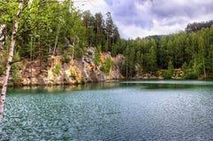 Adeszpach湖 库存图片