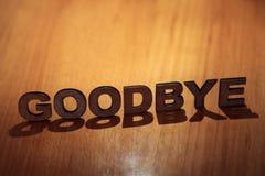 adeus imagem de stock royalty free