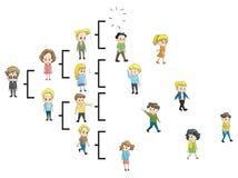 Adeus MLM. A rede está interrompendo. Imagem de Stock Royalty Free
