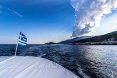 Adeus Thassos Imagem de Stock Royalty Free