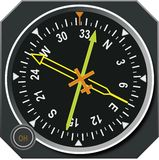 ADF navigation directional gyro indicator Stock Photos