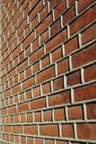 Adged brick wall Royalty Free Stock Photo