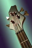 Adhérence de guitare basse Image stock