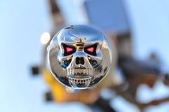 Adhérence de vélo de crâne Photographie stock