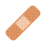 Adhésif médical de bandage de plâtre Images stock