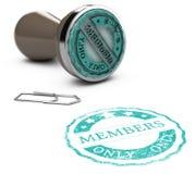 Adhésion, membres seulement illustration libre de droits