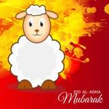 Adha Mubarak d'Al d'Eid Images libres de droits