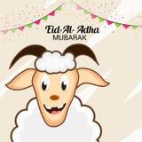 Adha Mubarak del al de Eid Imagenes de archivo