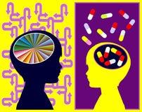 ADHD疗程 免版税库存照片