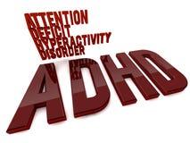 ADHD royaltyfri illustrationer