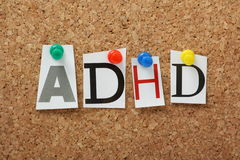 ADHD imagen de archivo