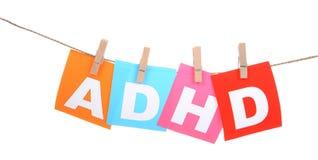 ADHD Photographie stock libre de droits