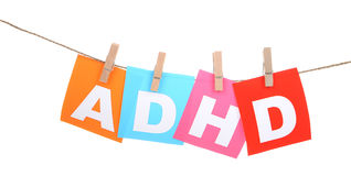 ADHD Fotografia de Stock Royalty Free