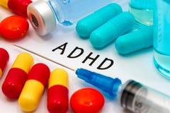 ADHD royaltyfri fotografi