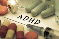 ADHD Foto de archivo libre de regalías