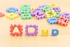 ADHD in bambini Fotografia Stock