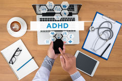 ADHD CONCEPT Stock Images