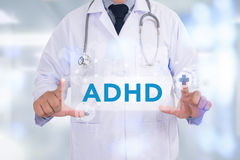 ADHD-Konzept Stockfotos