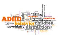 ADHD problem Stock Photos