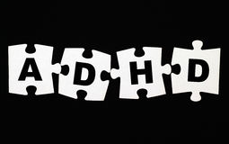 ADHD puzzle Stock Image