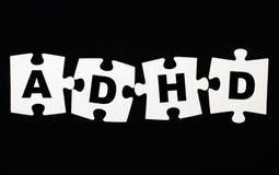 ADHD-Puzzlespiel Stockbild