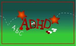 ADHD. At school Royalty Free Stock Image