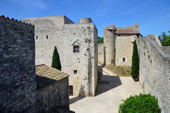 Adhemar Castle, Montelimar, France Stock Image