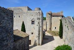 Adhemar Castle, Montelimar, France Royalty Free Stock Image