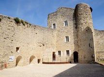 Adhemar-Schloss, Montelimar, Frankreich Stockbild