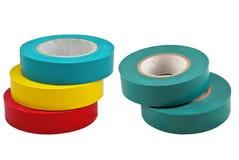 Adhesive band som isoleras på white Fotografering för Bildbyråer