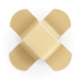 Adhesive bandage. Icon illustration on white Royalty Free Stock Images