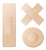 Adhesive bandage Stock Images