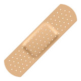Adhesive bandage royalty free illustration