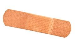 Adhesive bandage isolated on white royalty free stock photo